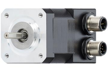 drylin® E stepper motor with connector and encoder, NEMA 17