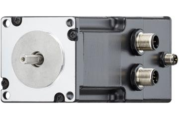 drylin® E stepper motor with connector, encoder and brake, NEMA 23