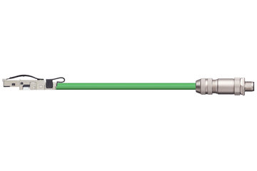readycable® bus cable suitable for B&R iX67CA0E41.xxxx, base cable PVC 12.5 x d
