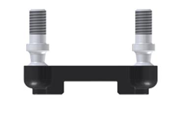 Variable coupling joint, removable at both ends, WDGM, with ball stud, igubal®