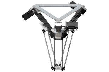 drylin delta robot | Workspace 360mm