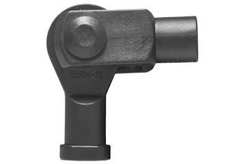 Clevis joint with pin, circlip and rod end bearing, GERMKE, igubal®