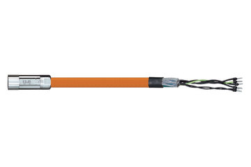 readycable® motor cable similar to Parker iMOK43, base cable iguPUR 15 x d