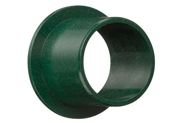 iglidur® D, sleeve bearing with flange, mm
